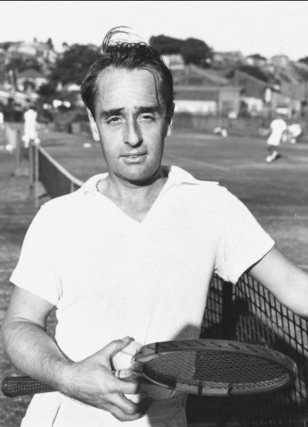 Adrian Quist, who came up with the idea of Dunlop Volley tennis shoes.