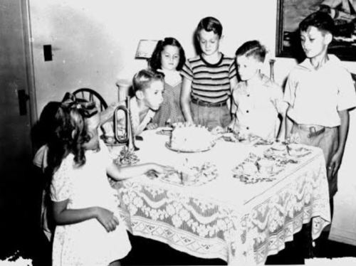 1950s birthday parties.