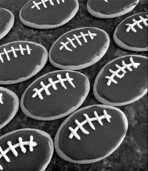 milk arrowroot football biscuits.