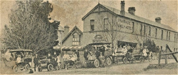 Old Ivanhoe Hotel, dated 1905