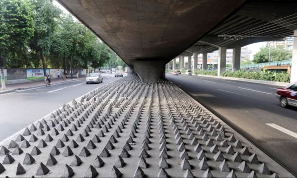 THe brutalist approach to anti-homeless design