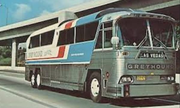Greyhound buses criss-cross the United States.