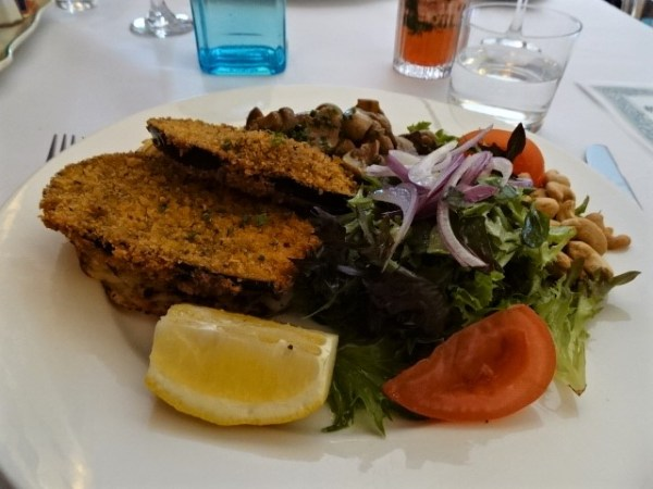 A vegan special at The Avalon