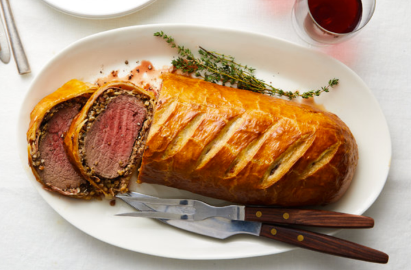 Beef Wellington, oh yes!