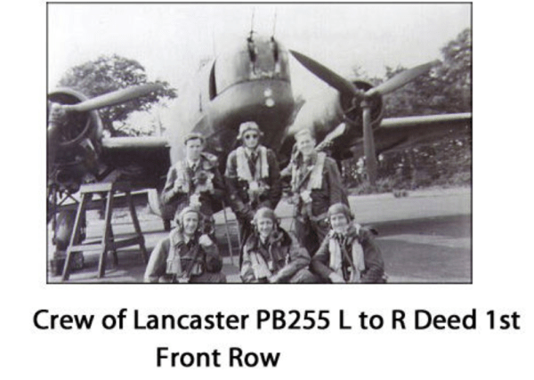 Crew of the lost Lancaster