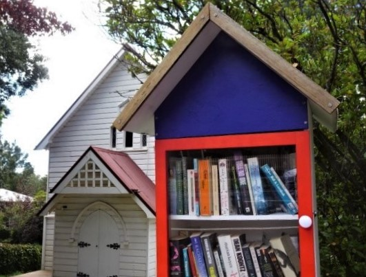 The Street Library in Wentworth Street Blackheath.