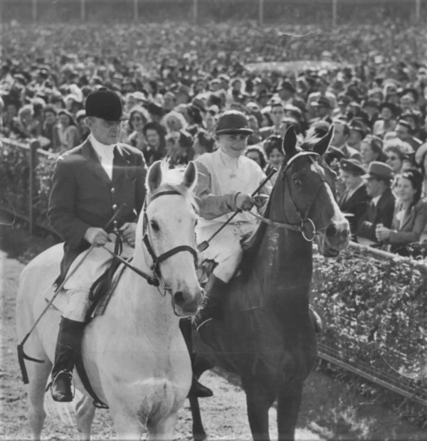 Rimfire after the 1948 Melbourne Cup.