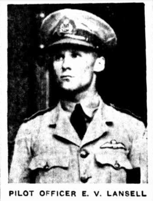 Eric Lansell, pilot of the plane involved in the tragic RAAF accident at Swansea.