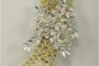 THE WATTLE  BROOCH - FIT FOR A QUEEN