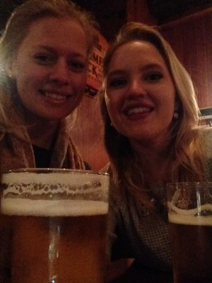 Loved catching up the my dear friend Caroline, without having to Snapchat our beers.