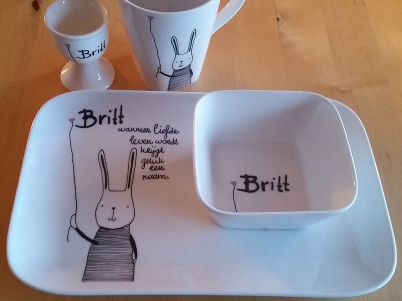 Kinderservies Britt