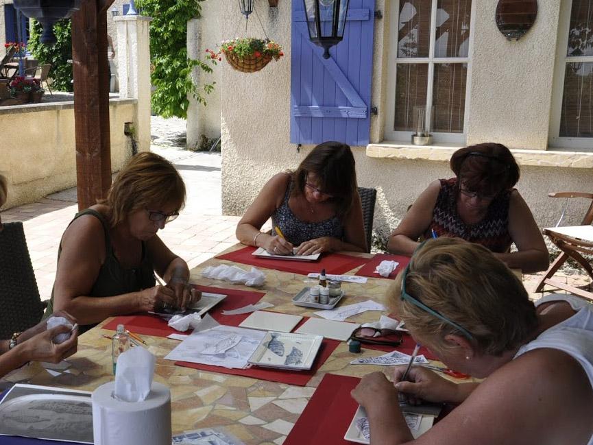 workshop in Frankrijk