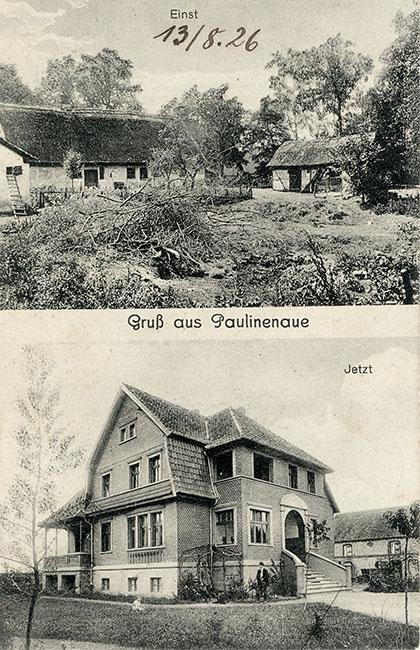 Postkarte Villa Schumacher, 1920er Jahre
