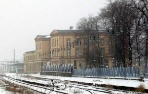 Der Bahnhof in Wittenberge.