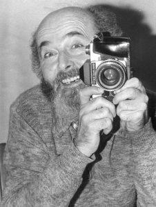 """Unser """"Lehrmeister"""" Georg Drasché, 1987"""