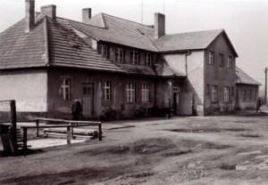 Die Paulinenauer Schnitterkaserne, ca. 1967.