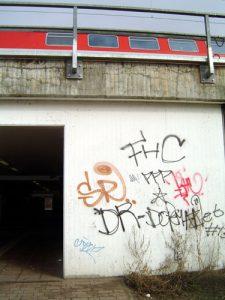 Auch in Nauen ist FHC schon gewesen. Hier teilt er sich das Revier mit SR, PPP und vielen anderen.