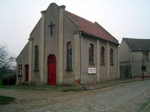 Die katholische Kirche in Friesack.