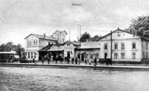 Abb. 3: Der Paulinenauer Bahnhof (ca 1918)