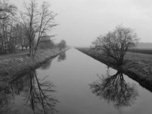 Abb. 1: Der Kanal erhielt seine volle Breite erst zu Beginn des 20. Jahrhunderts.