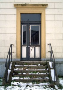 Ehemalige Eingangstür