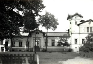 Der Paulinenauer Bahnhof in besseren Tagen.
