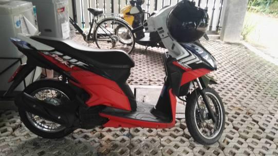 scooter thaïlande