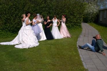 Fotoshoot in jurk
