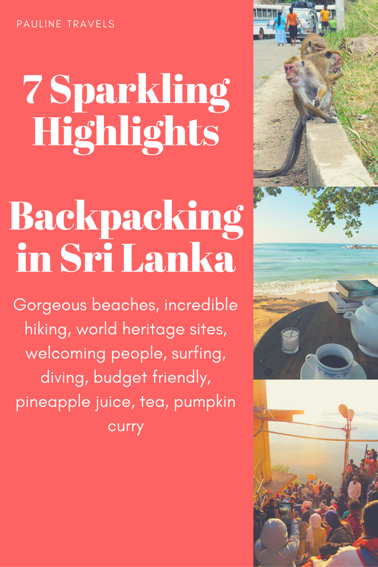 7 Sparkling Highlights for Backpacking in Sri lanka an Island in South Asia