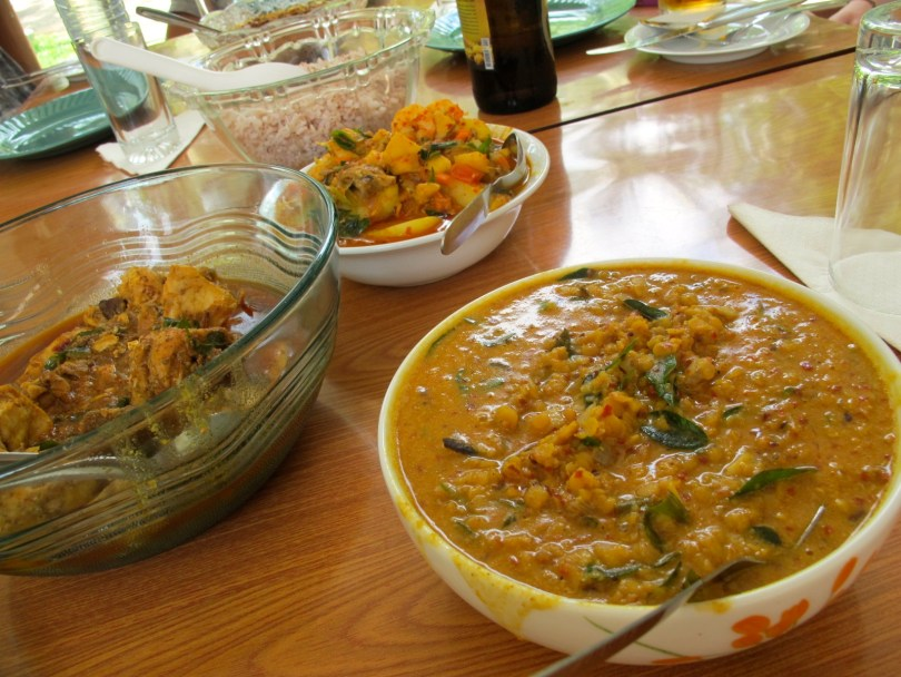 Backpacking Sri Lanka requires local curry - The best food you get is when you keep eating the local curry and it´s always the best price.