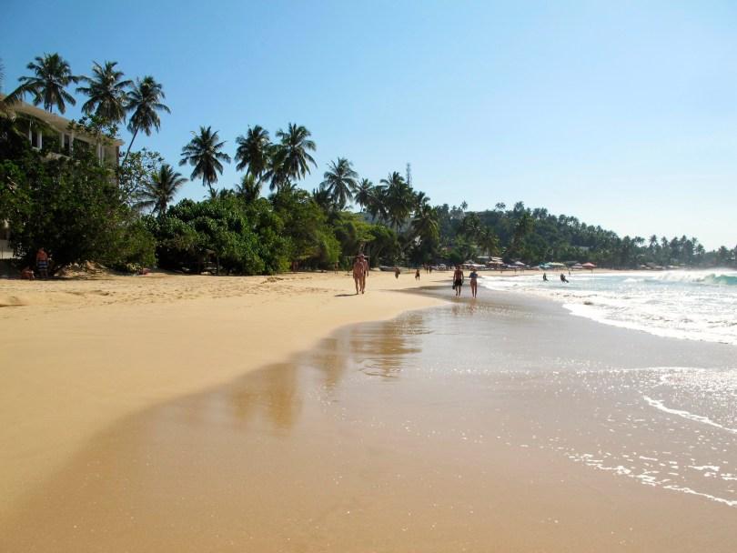 Mirissa Beach in Sri Lanka during day-time