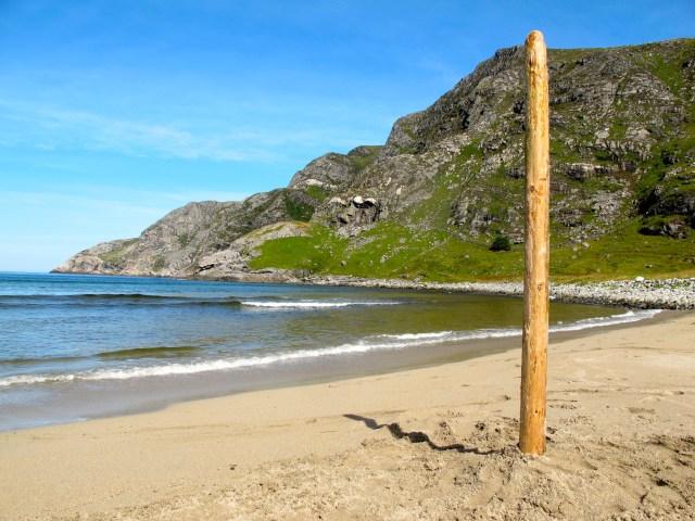 West Coast of Norway at Ervika beach