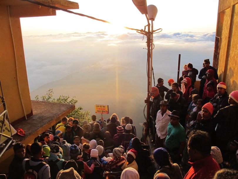 Adam's Peak Climb panorama
