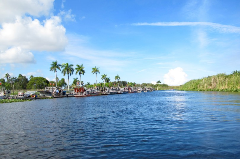 Exploring the Everglades Holiday park in Florida