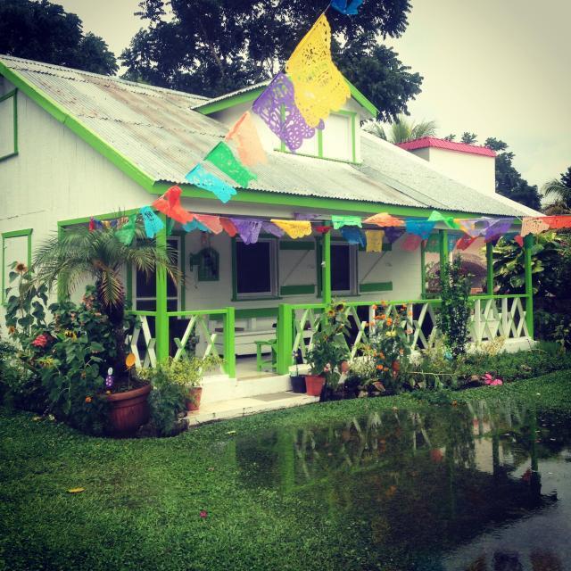 The small village