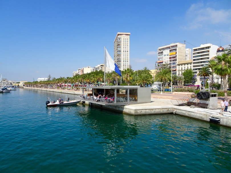 The Harbour is great for walking around in Alicante