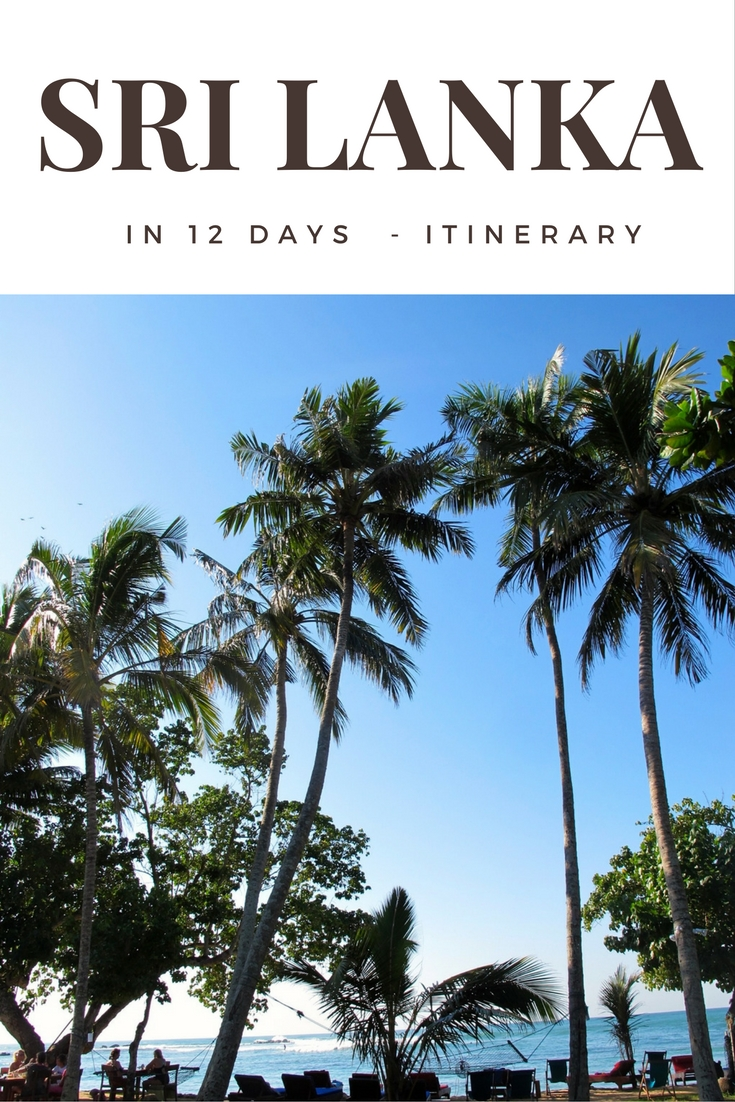 12 Days in Sri Lanka Itinerary - If you like pin & share it
