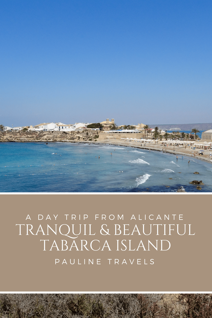 Tranquil Tabarca Island a Day Trip from Alicante | How to go & what to do!