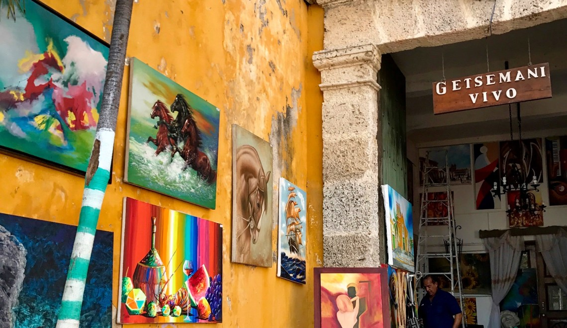 Ultimate Guide on Getsemani the Authentic Neighborhood in Cartagena de Indias, Colombia, South America 2017.