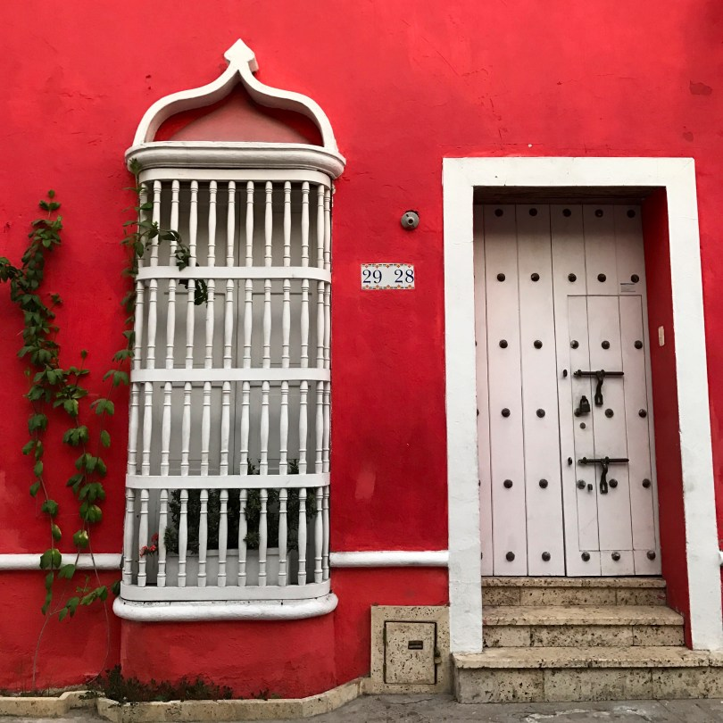 Red house in Getsemani
