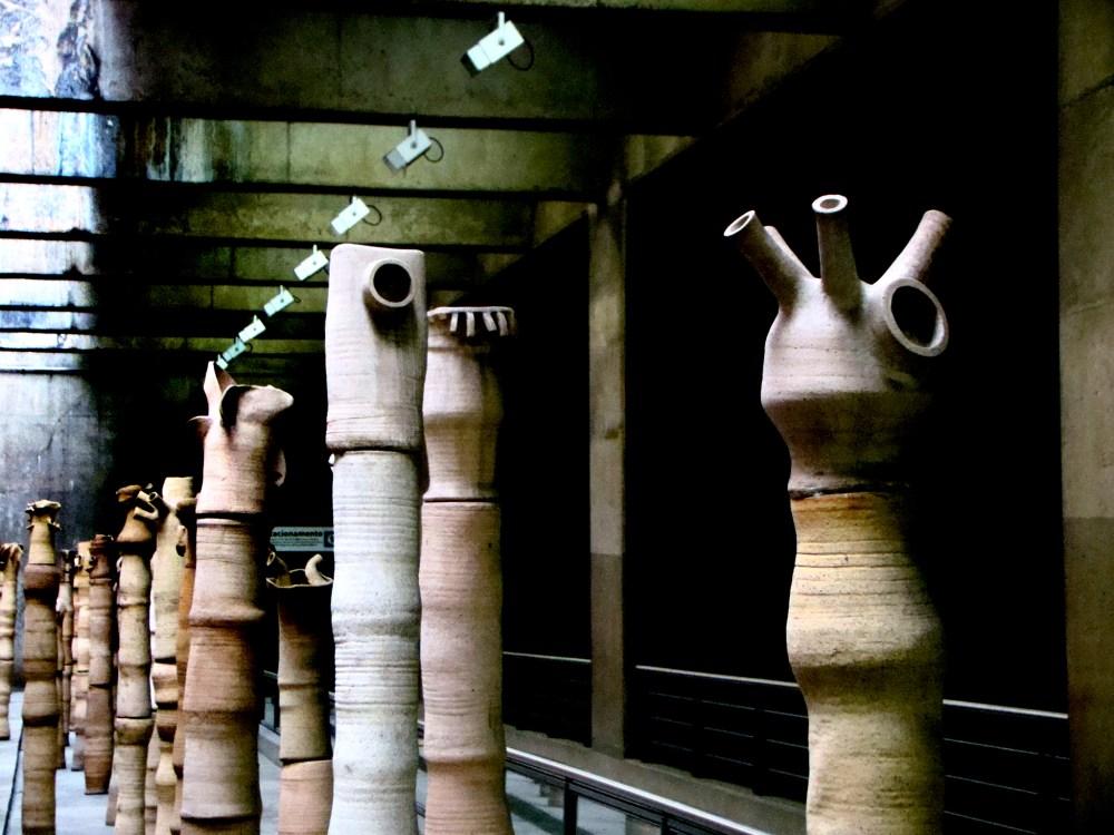 Lygia Reinach Escultura Metrô Ana Rosa Fotos nº 2 (2/3)