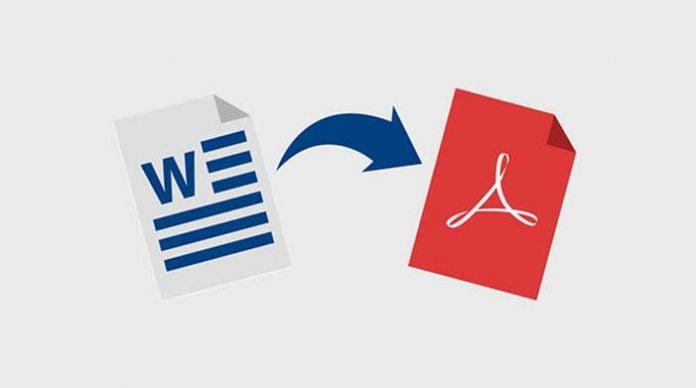 Cara Ganti Microsoft Word Menjadi PDF