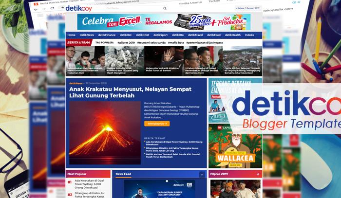 template blogger mirip detikcom