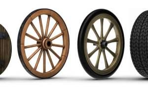 penggunaan roda dari masa ke masa