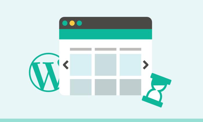 loading WordPress