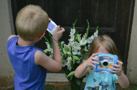 Our budding photographers