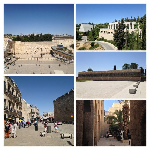 Jerusalem visit collage