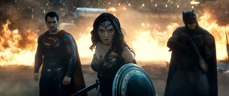 Batman v Superman with Wonder Woman