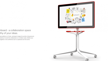 Google Jamboard is an exciting step into our future.