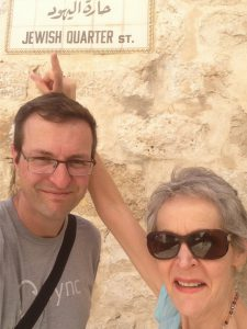 With my Mom in Jerusalem in early 2016